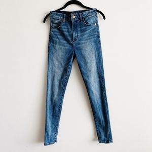 Abercrombie Simone Skinny Hi Rise Jeans